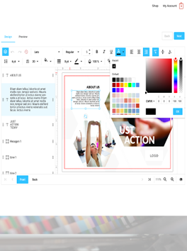 Picture of HTML5 Editor